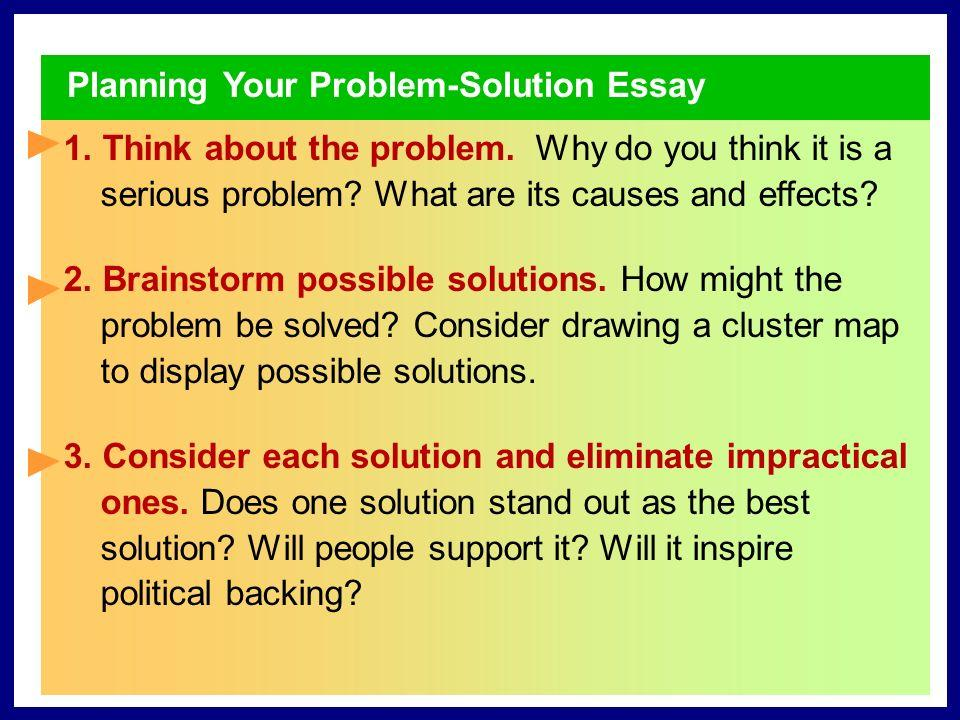 Helpful problem solution essay guide for everybody